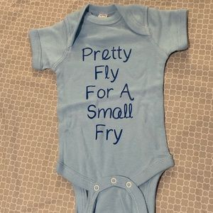 Other - Pretty Fly for a Small Fry Onesie
